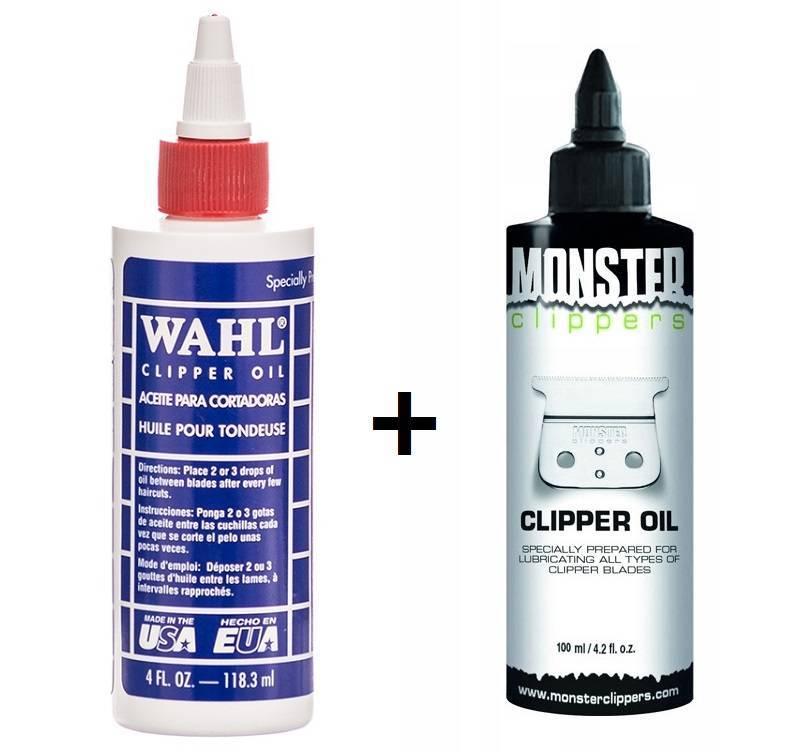 Wahl + Monster Oliwka do konserwacji maszynki zestaw 2 szuki