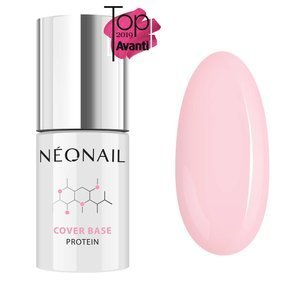 Baza hybrydowa Neonail Cover Base Protein Nude Rose 7,2 ml