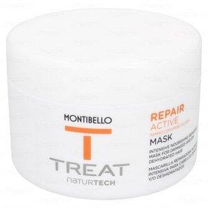 MONTIBELLO TREAT NATURTECH maska do włosów zniszczonych Repair Active 200 ml