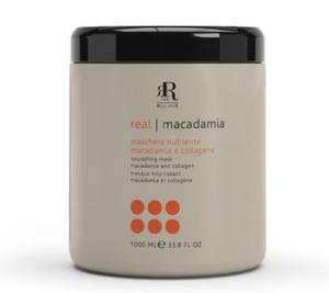RR Macadamia Star Mask 1000ml maska do włosów delikatnych