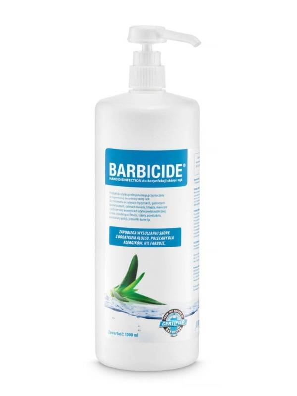 Barbicide Hand Desinfection Spray do dezynfekcji skóry i rąk 1000ml