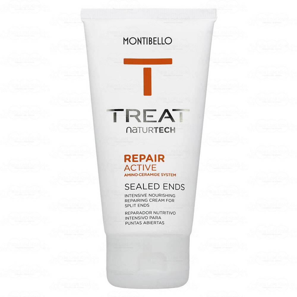 MONTIBELLO TREAT NATURTECH krem na końce do włosów zniszczonych Repair Active 75 ml