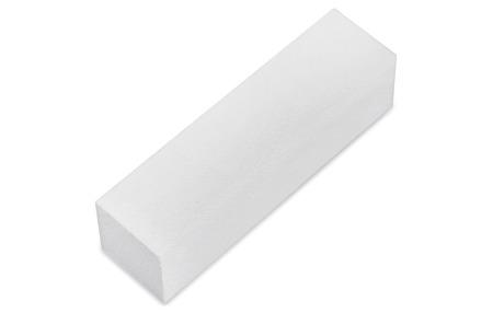 Neonail Blok polerski czterostronny drobnoziarnisty biały