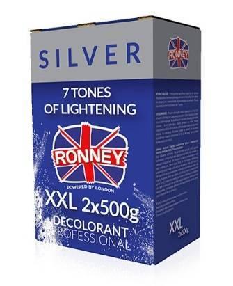 Ronney Silver rozjaśniacz do włosów XXL 2x500 g