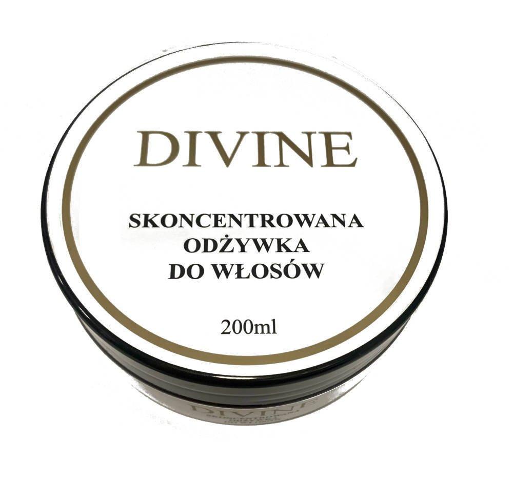 Skoncentrowana odżywka do włosów Divine 200 ml