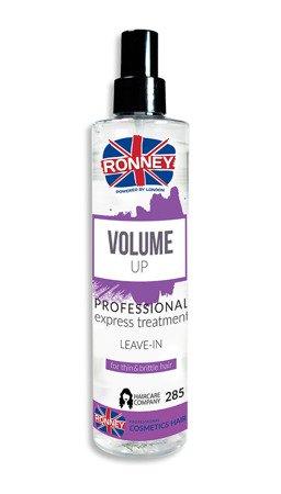 Spray zwiększający objętość RONNEY Professional VOLUME UP 285 ml